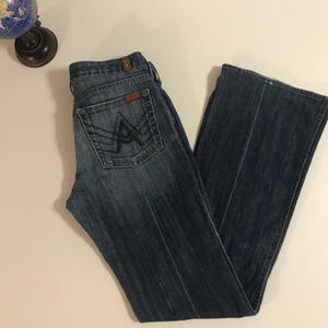 7 For All Mankind Lexie Jean sz 28 A pocket